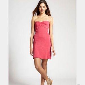 Michael Stars cherry red tube top dress